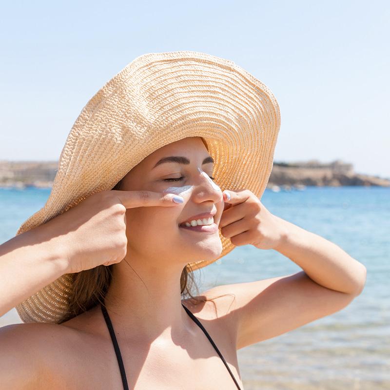 Come idratare pelle in estate